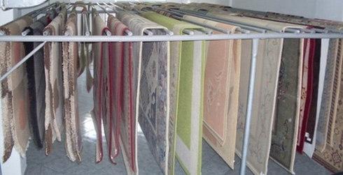 Suszenie dywanów w pralni
